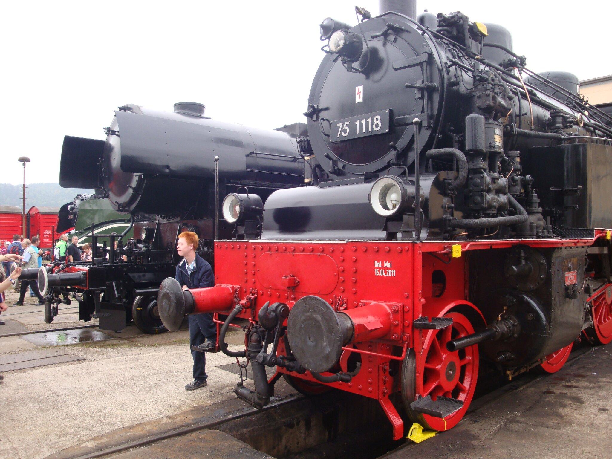 Dampfloktage in Meiningen