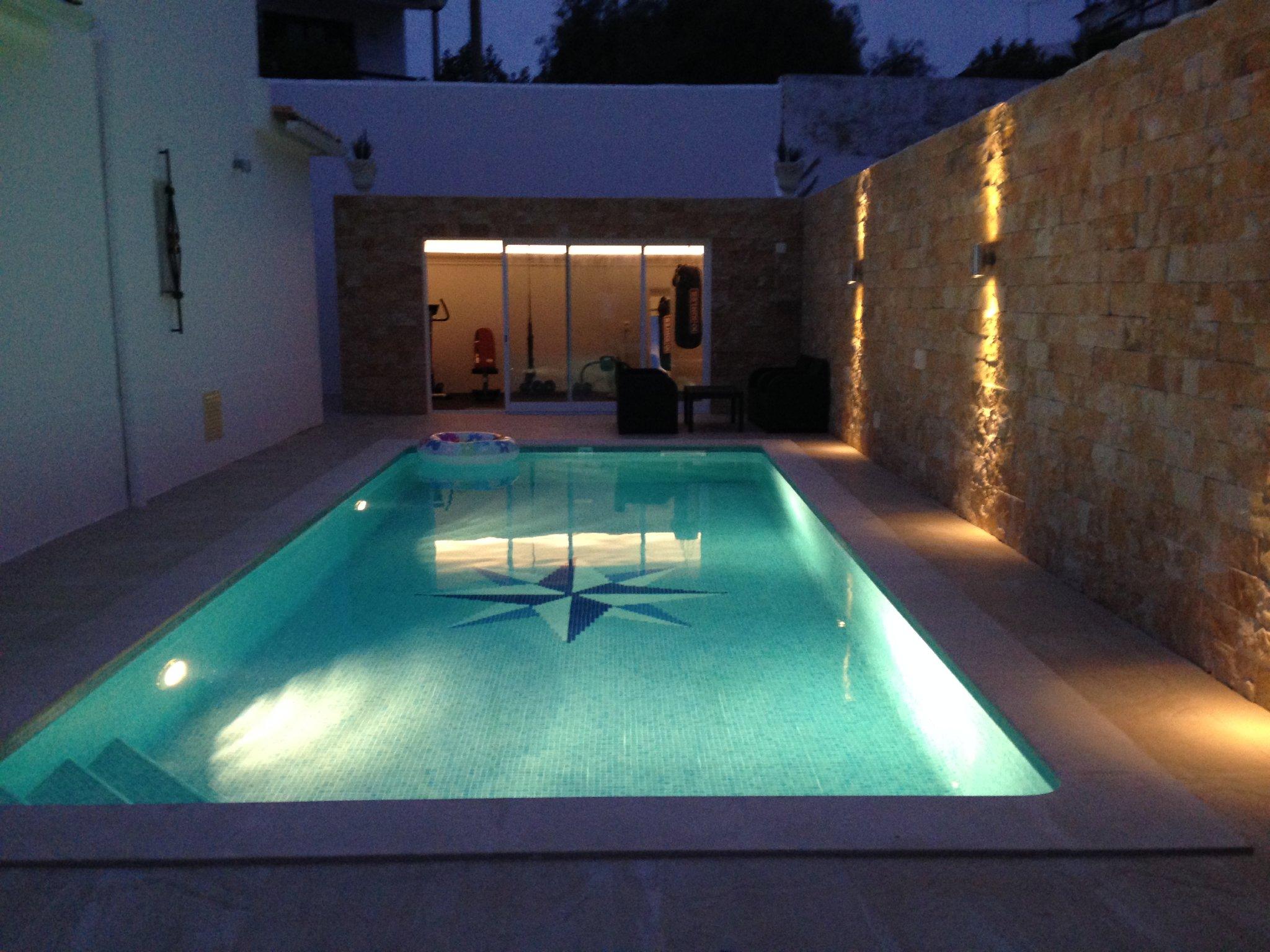 Romantico - schwimmen bei Nacht