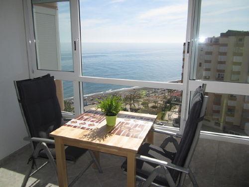 Verglaste Terrasse mit Aussicht