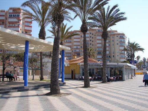 Strandpromenade in Torrox Costa