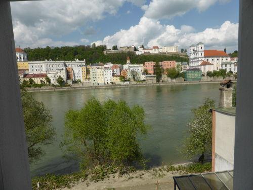 Blick auf Altstadt und Veste