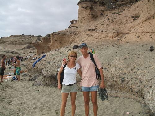 Hein und Angie, Eigentümer im Urlaub!