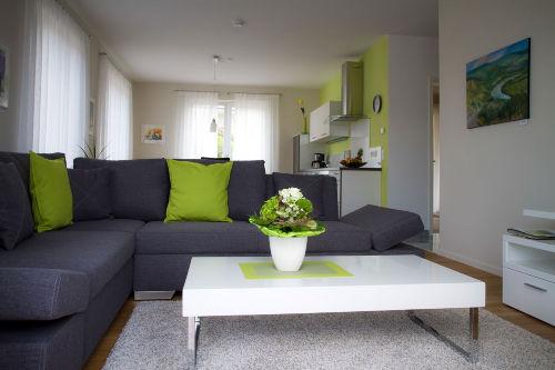 Wohnzimmer Ferienwohnung Valentina