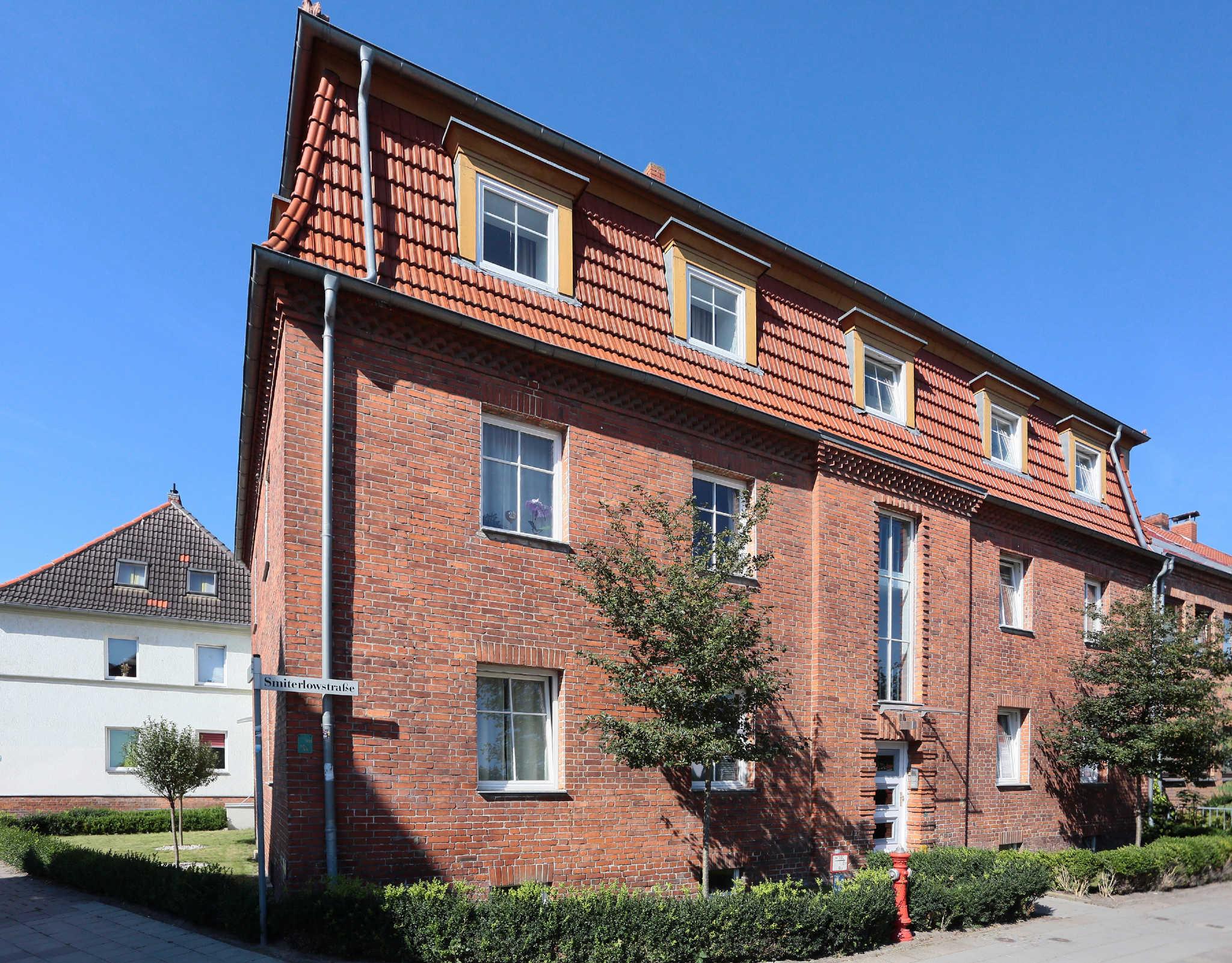 Aussenansicht Apartmenthaus Smiterlowstr