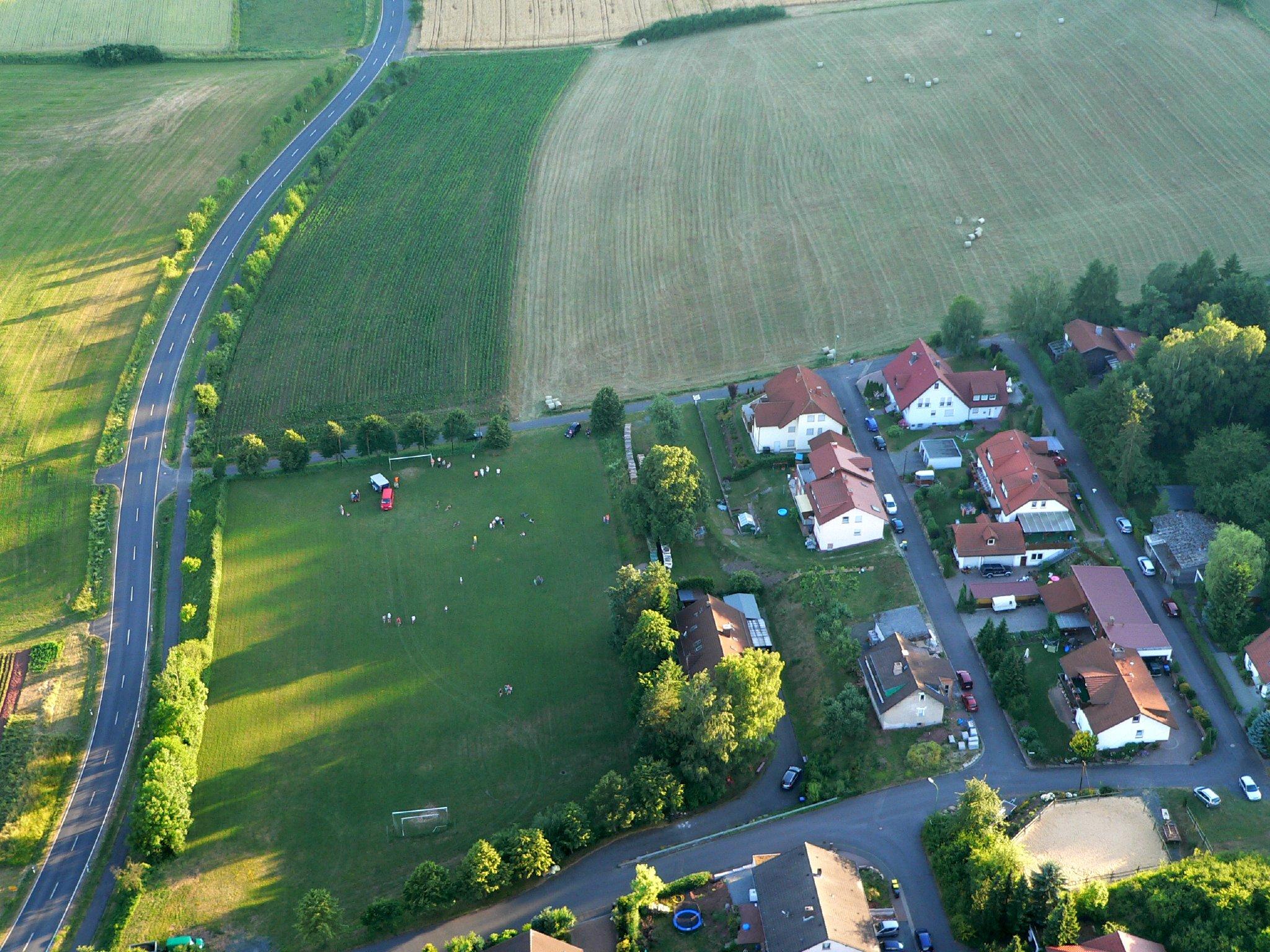 Blick auf Mittelaschenbach mit Linsberg