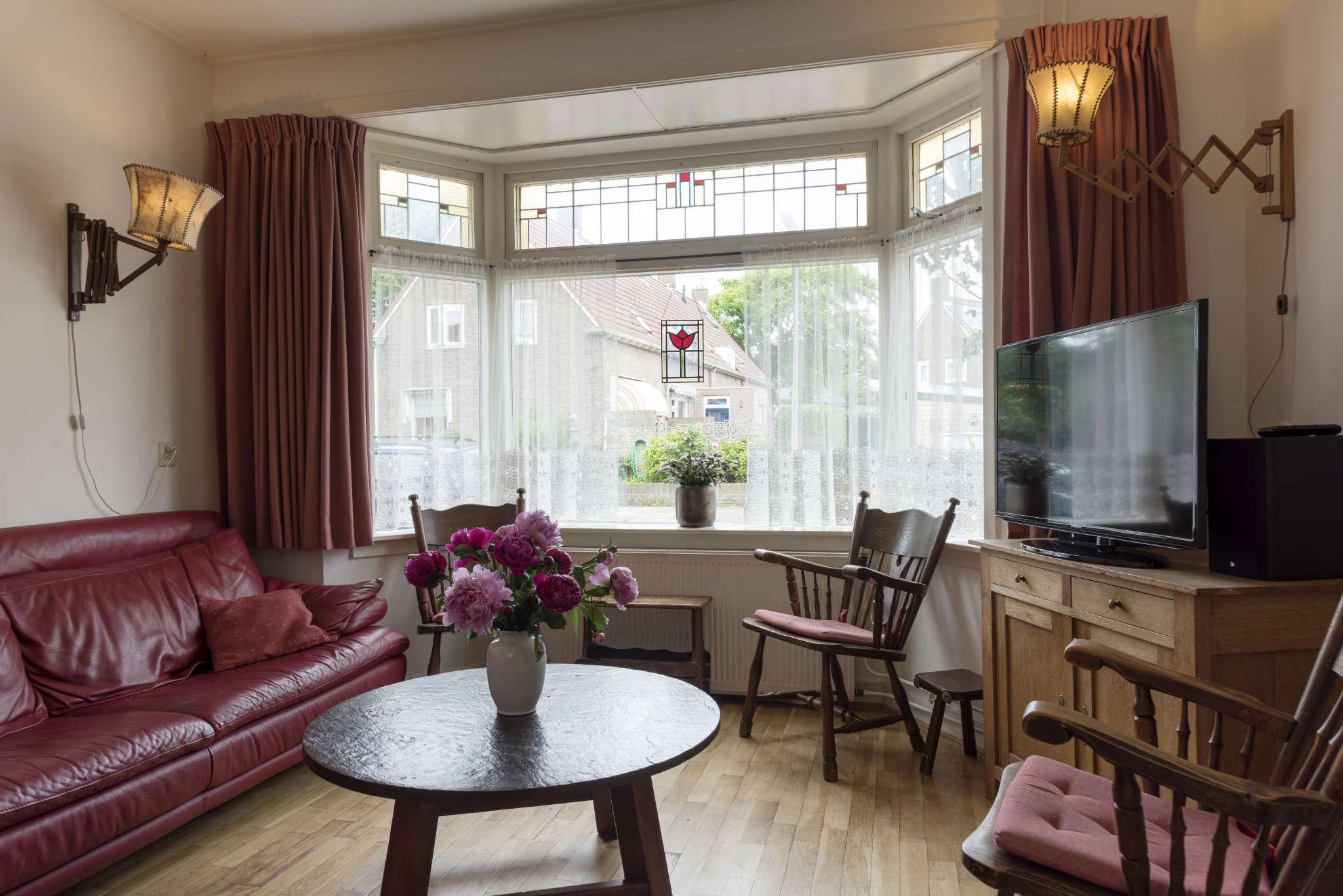 Wohnzimmer mit Television.