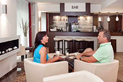 Lobby / Bar im Aparthotel Oberhof