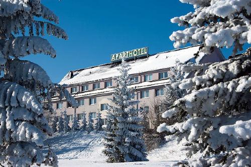 Aparthotel Oberhof, Winteransicht