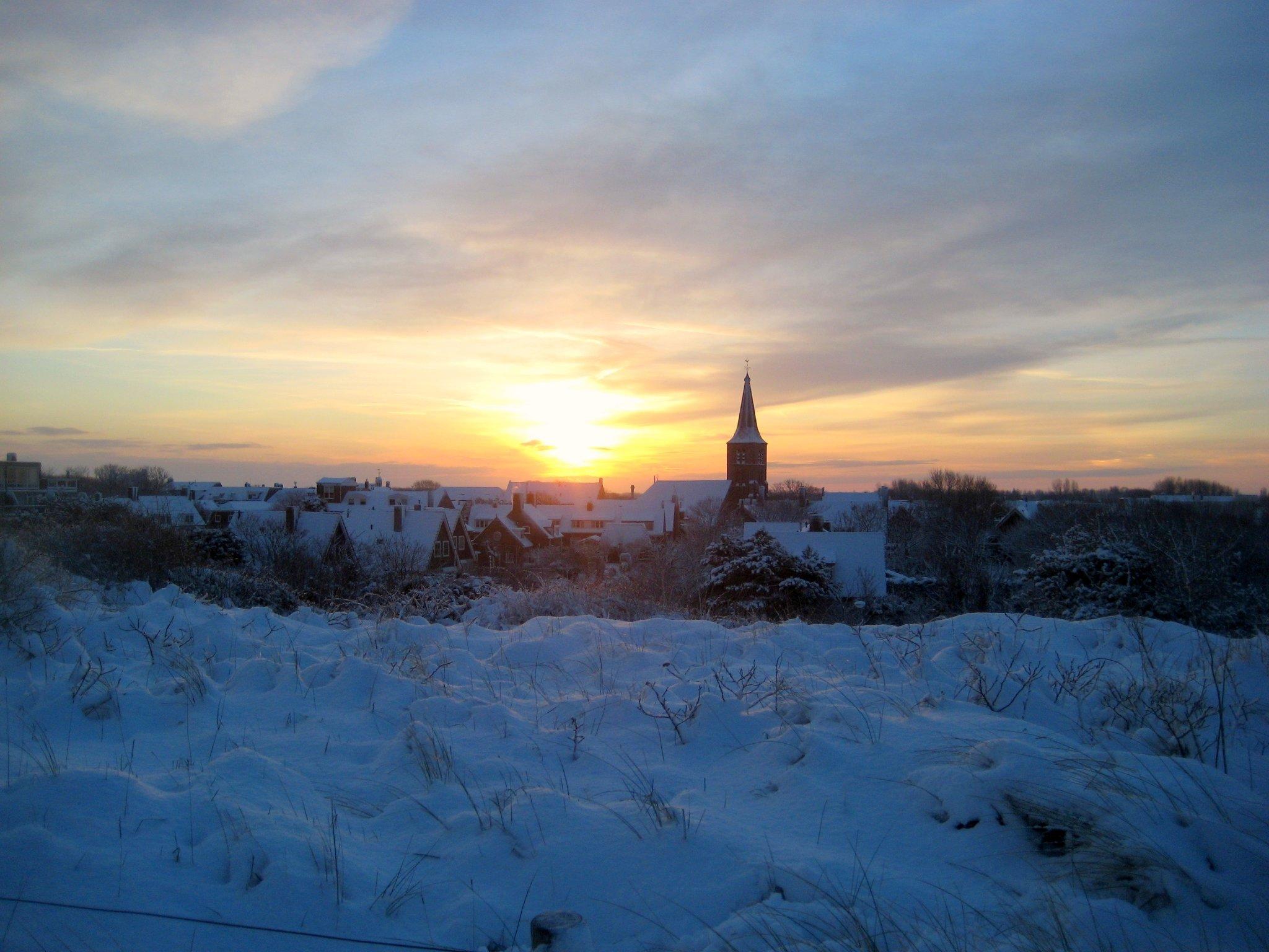 Domburg in Winter