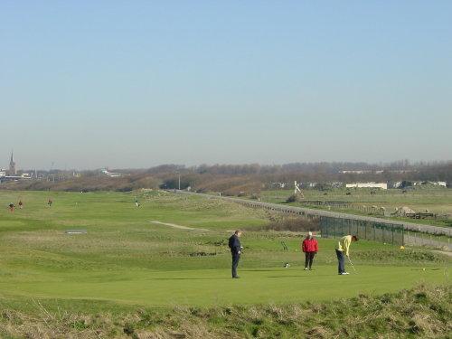 Golfplatz in 1000m
