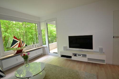 Elegant eingerichtetes Wohnzimmer