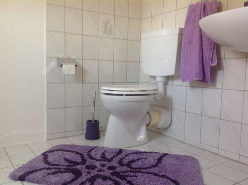 WC oben, neben dem Schlafzimmer