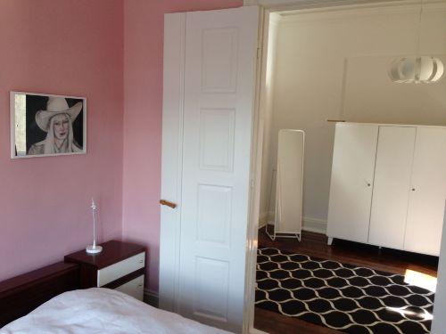 Detail, gro�es Schlafzimmer