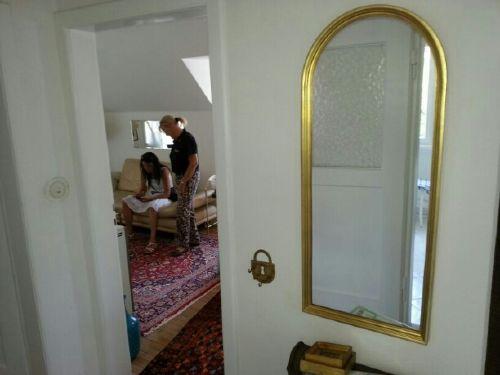 Wohnzimmer aus Richtung Flur