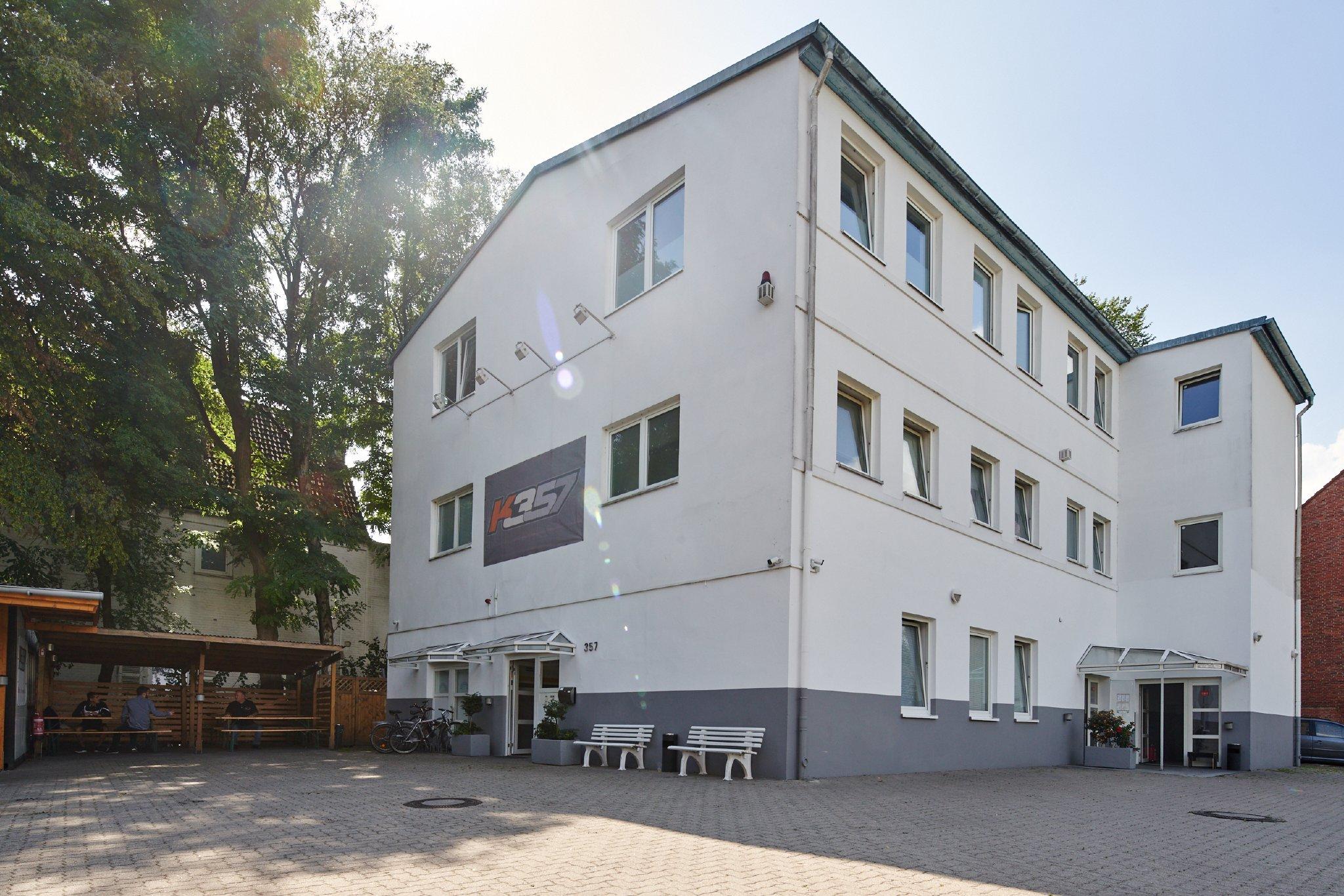 Außenansicht Unterkunft Hamburg K357
