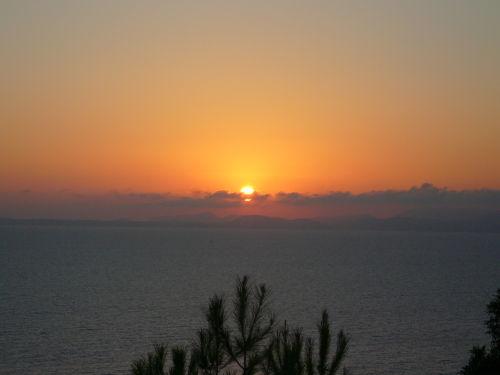 Abendstimmung an unserer Küste