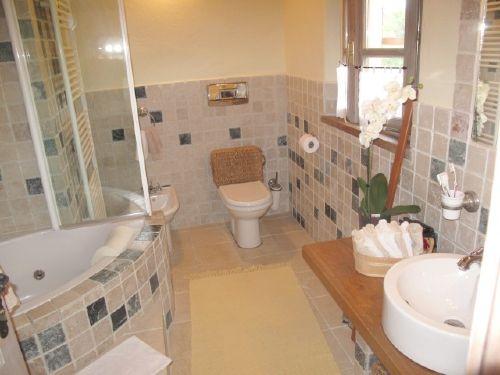Bad-Toilette, des gro�en Schlafzimmers