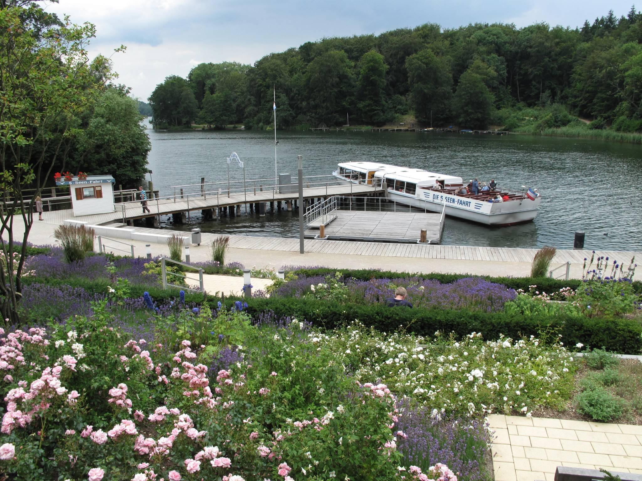 Start 5-Seen-Fahrt Dieksee Malente