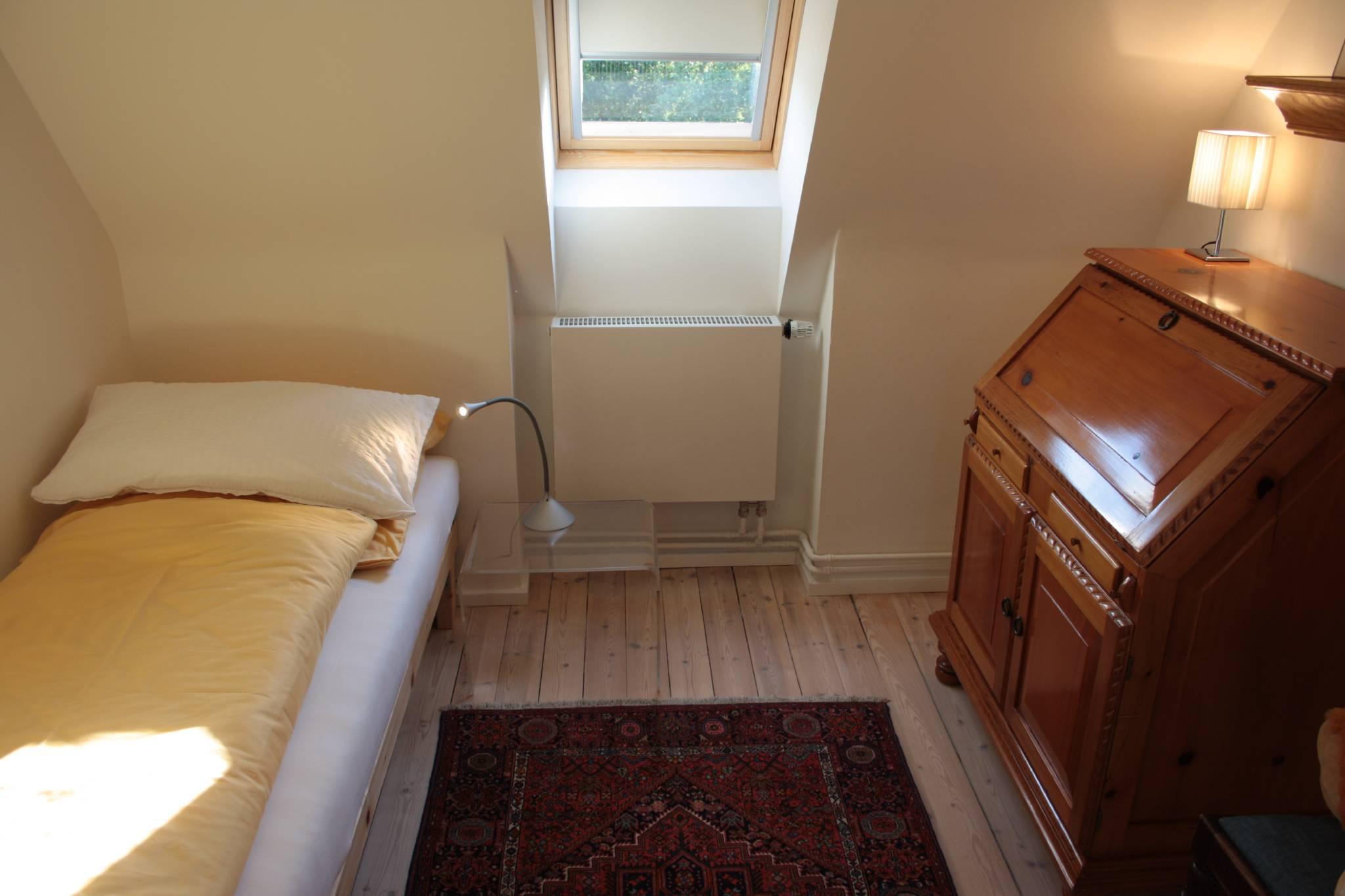 Kleines Schlafzimmer und Arbeitszimmer