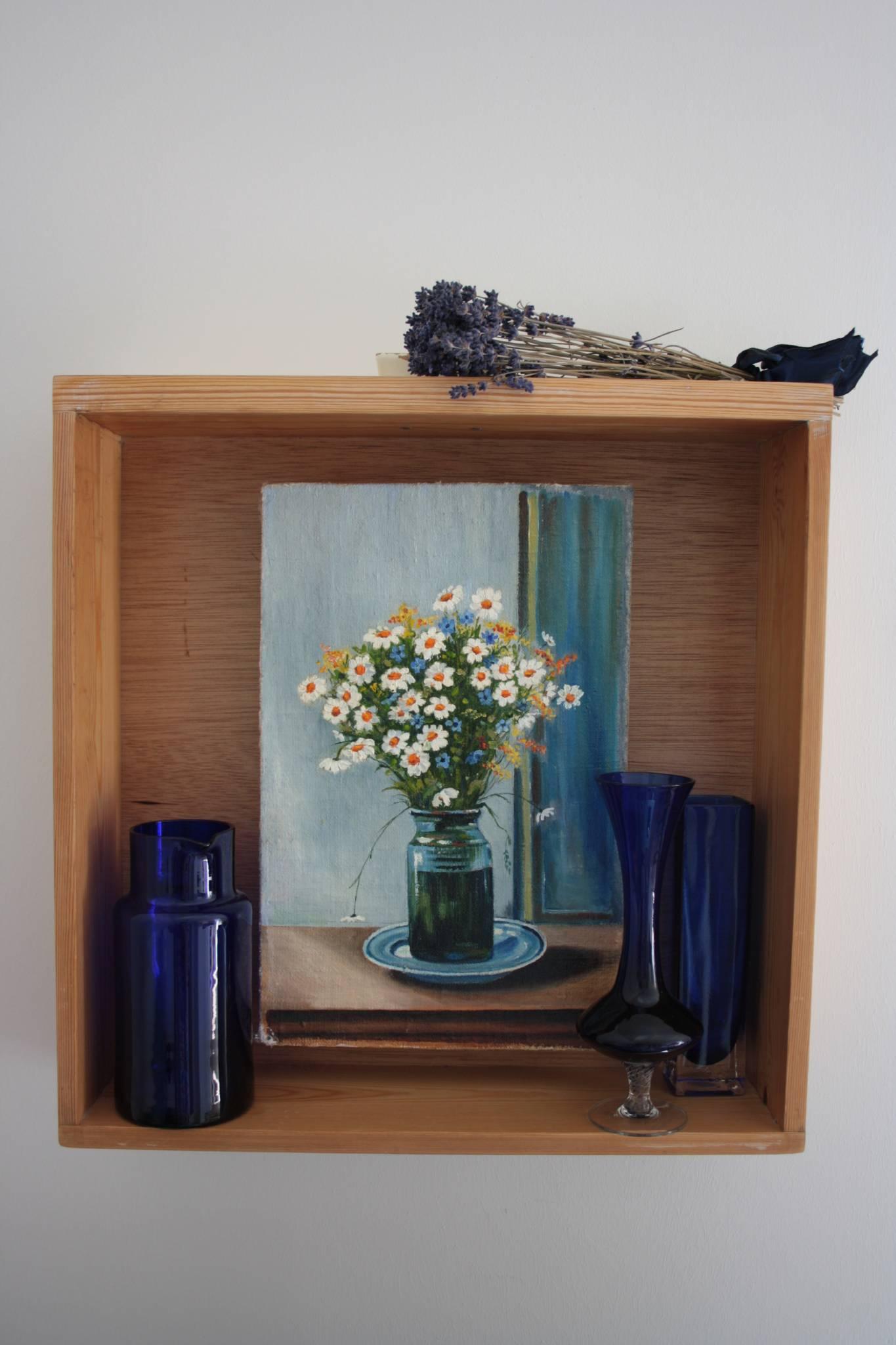 Arrangement mit Blumenbild