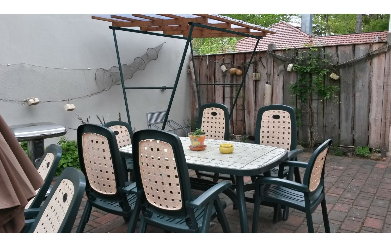 Sitzbereich im Freien