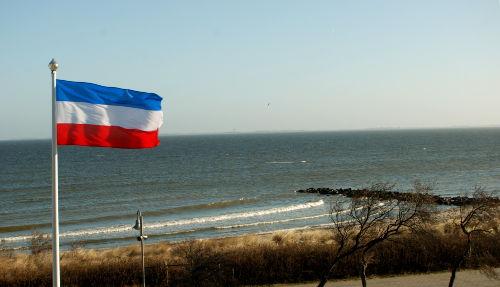 Der Strand vor unserem Haus