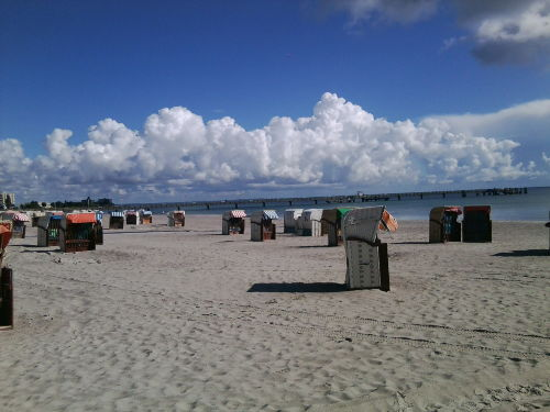 Strand Heiliegenhafen 60 m entfernt