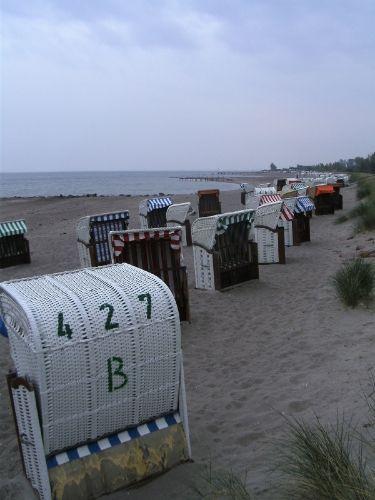 Der Strand vor dem Strandhotel