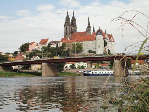 Albrechtsburg und Dom in Mei�en