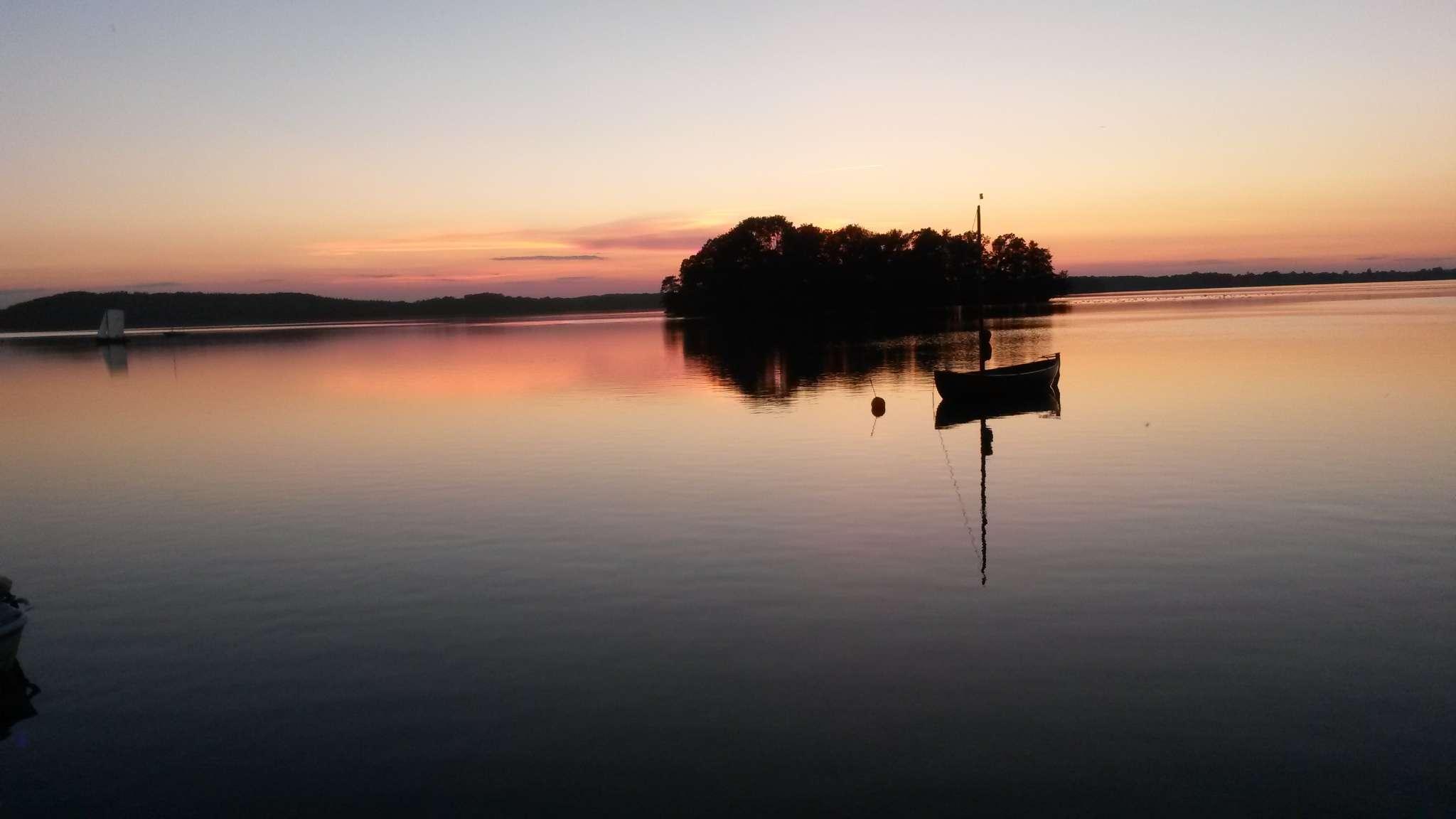 Ruhige Abendstimmung am See...