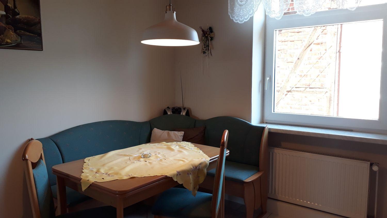 Die neue Sitzecke im Wohnzimmer