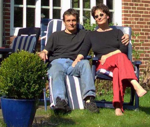 Ihre Gastgeber Heidi und Norfried Edler