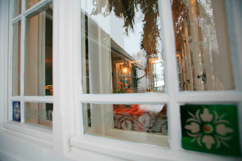Küchenfensterspieglung