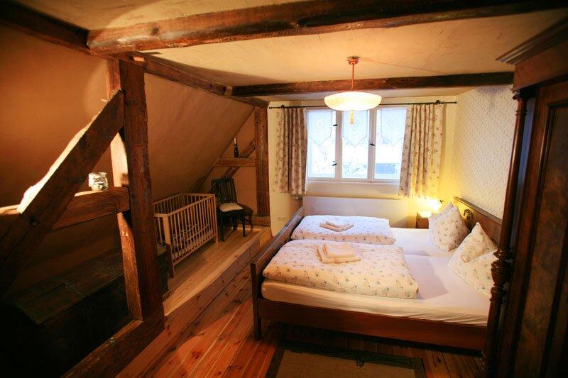 Kleines Schlafzimmer - oben links