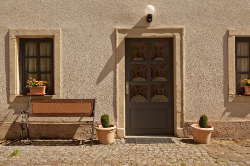 Eingang Gesindehaus