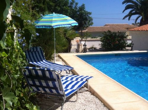 Sonnenplatz am Pool