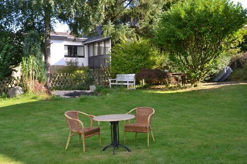 Gartenmitbenutzung für unsere Gäste