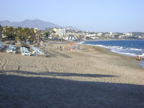 Strand - Playa el Bombo 300m vom Apt.