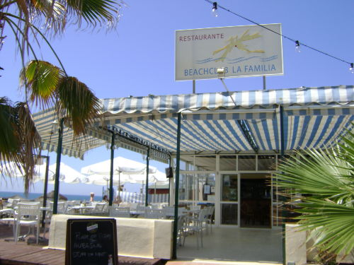 Nahes Strand-Restaurant