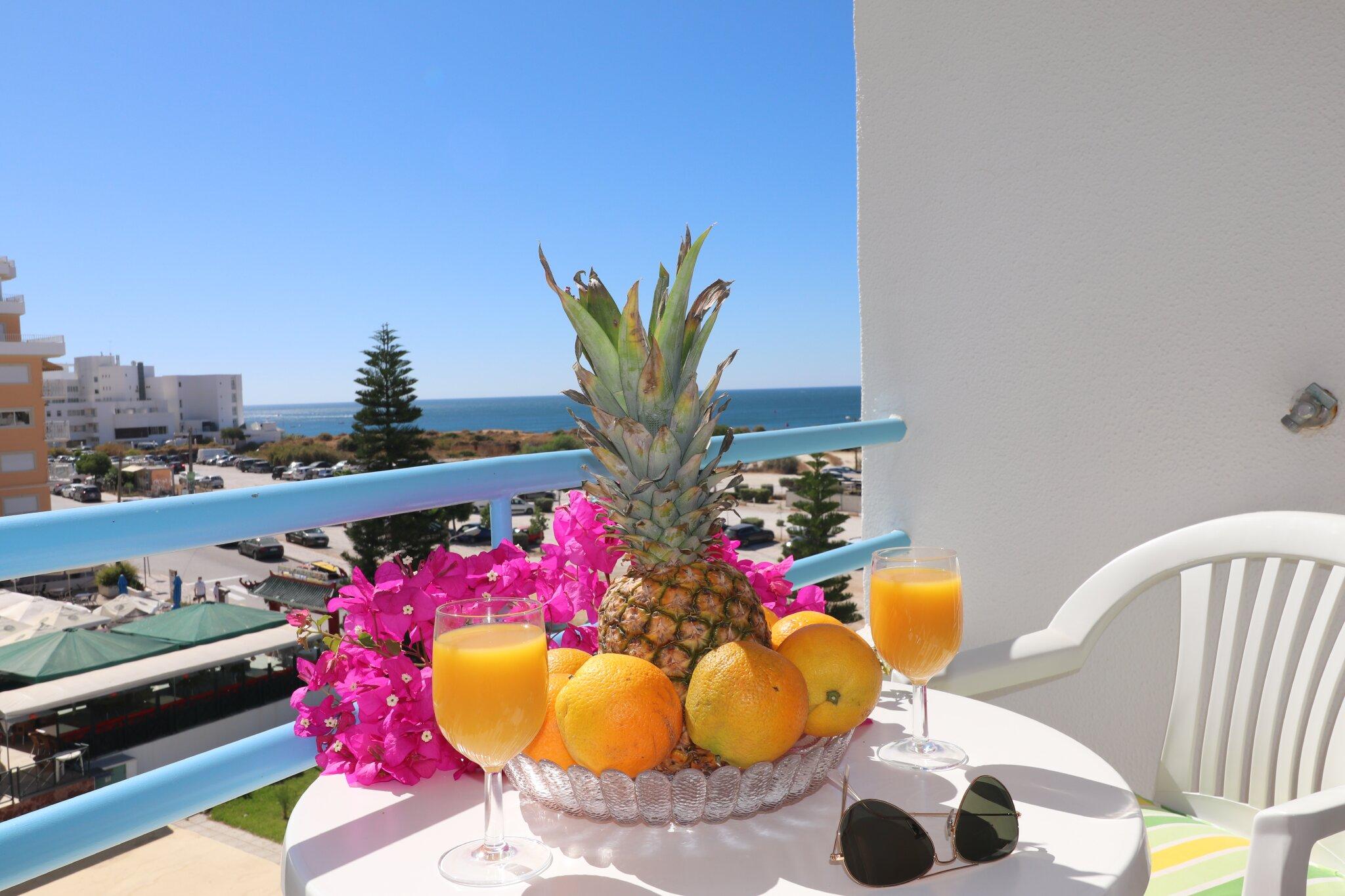 Frühstück mit Meerblick für 2