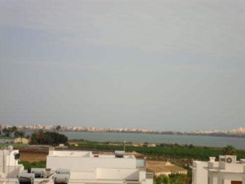 Blick auf Laguna Salada de la Mata