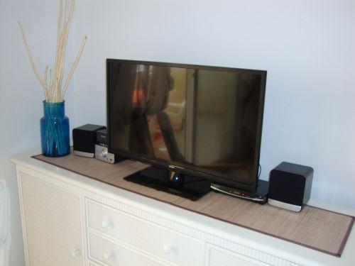 Sat-TV und Steroanlage mit USB