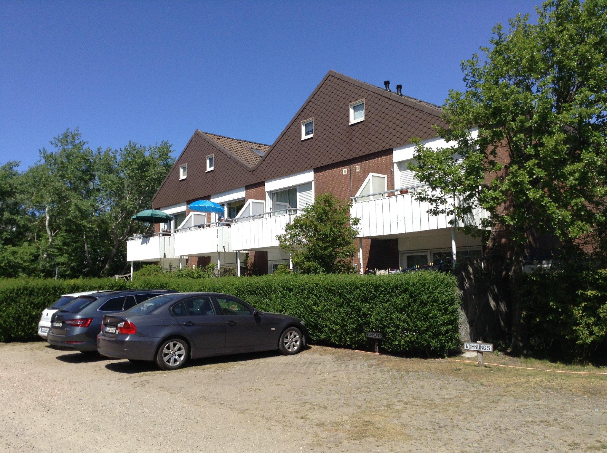Seitliche Ansicht vom Haus Norderoog.