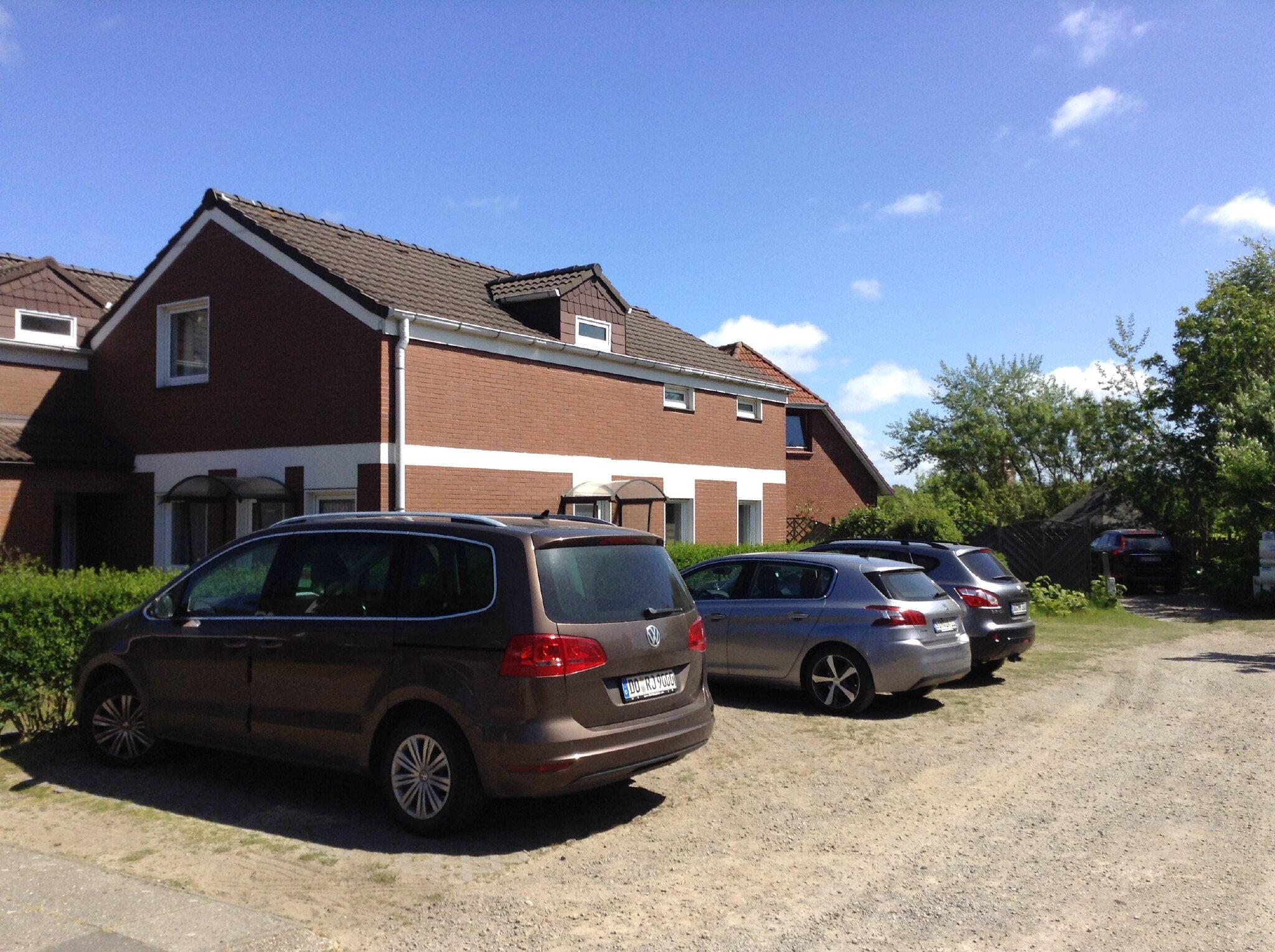 """Zufahrt zu den Parkplätzen """"Norderoog"""""""
