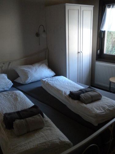 Das neu renovierte Schlafzimmer