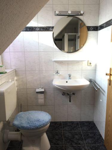 Das Bad oben
