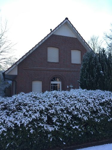 außen bei Schnee
