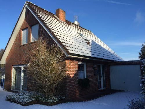Ferienhaus Jautz im Winter