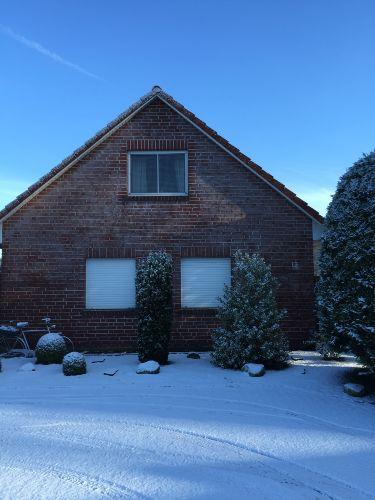 Das Ferienhaus Grabowski im Winter