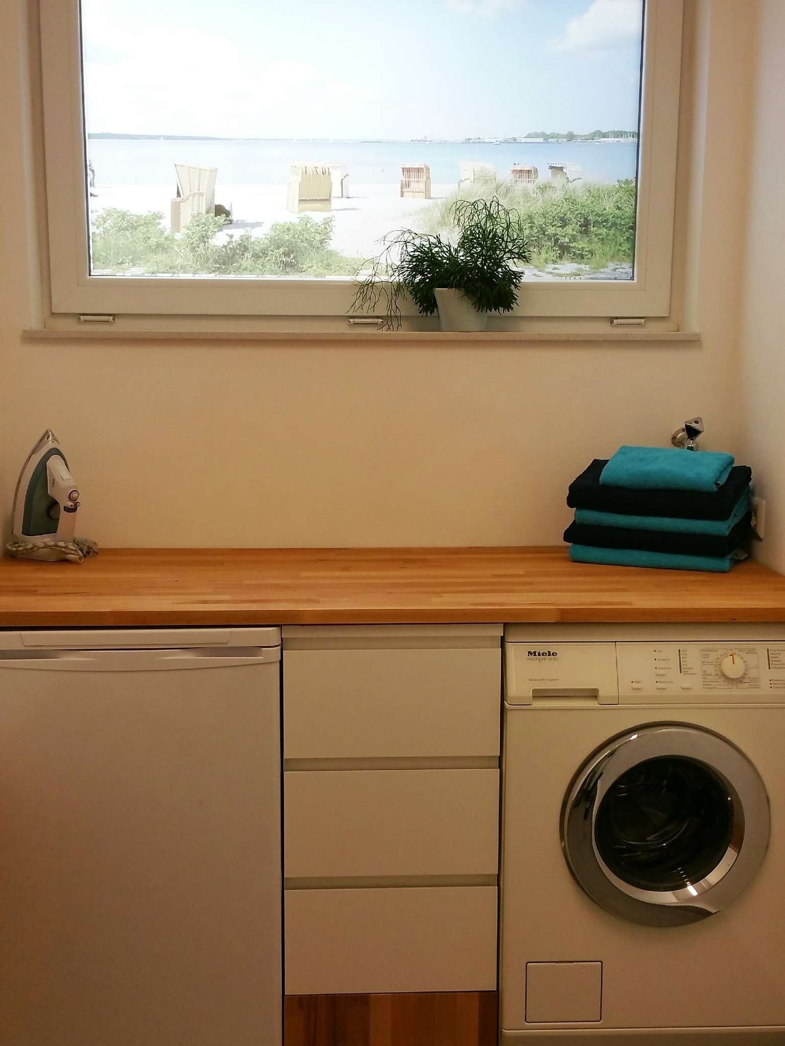 Waschmaschine für Langzeitmieter